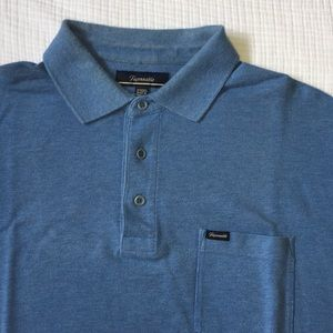 Men's Faconnable polo with pocket